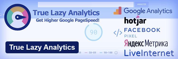 Плагин WordPress - True Lazy Analytics